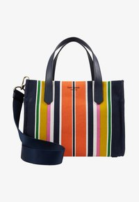 kate spade new york - KITT MEDIUM SATCHEL - Handtasche - parisian navy/ multi - 5