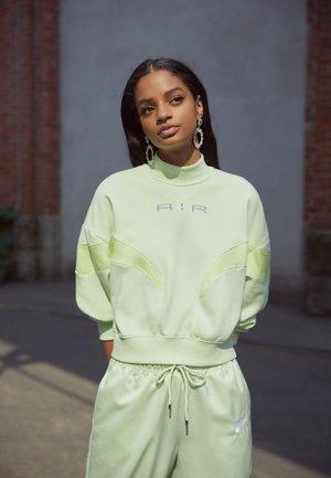 AIR MOCK - Sweatshirt - lime ice/lemon twist/white