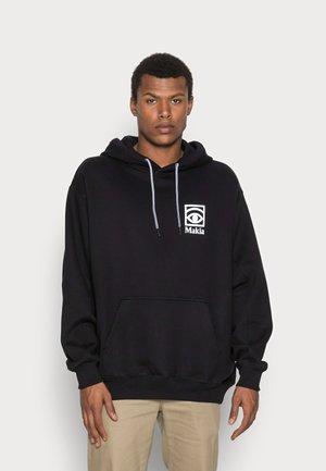 Makia x Olle Eksell Ögon Hooded Sweatshirt - Huppari - black