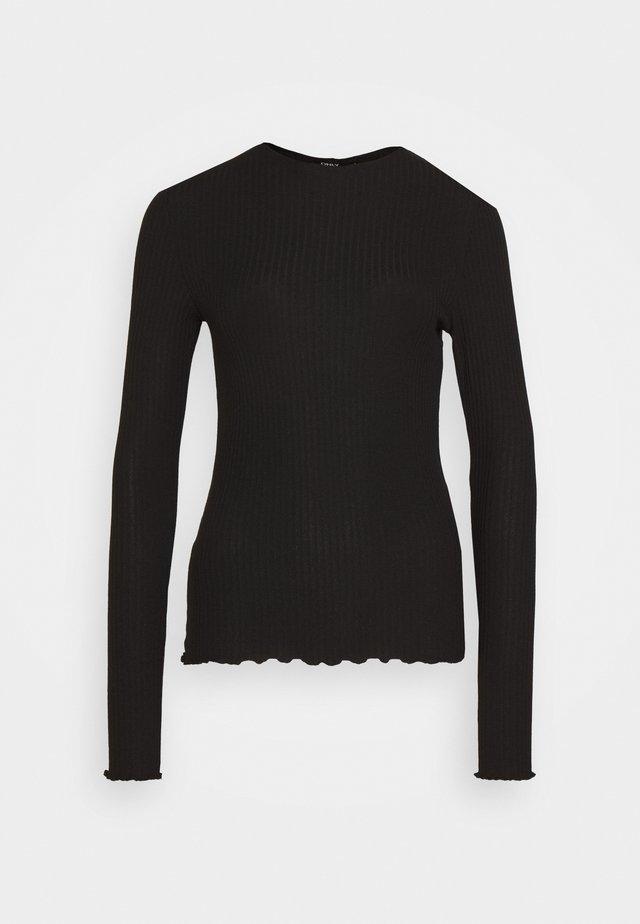 ONLEMMA HIGH NECK  - Long sleeved top - black