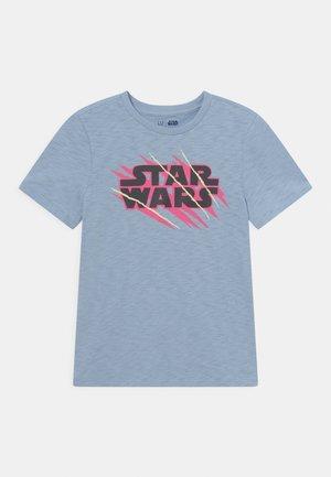 STAR WARS BOYS TEE - T-shirt print - bleach blue