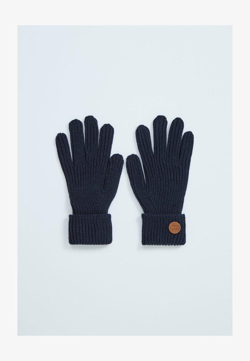 Pepe Jeans - SOFIA - Gloves - dunkel ozaen blau