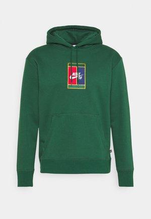 HOODIE UNISEX - Sweatshirt - gorge green/midnight navy