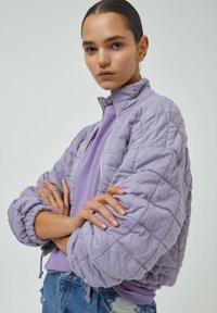 PULL&BEAR - Light jacket - mauve - 4