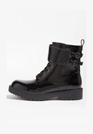 WANDA - Lace-up ankle boots - schwarz