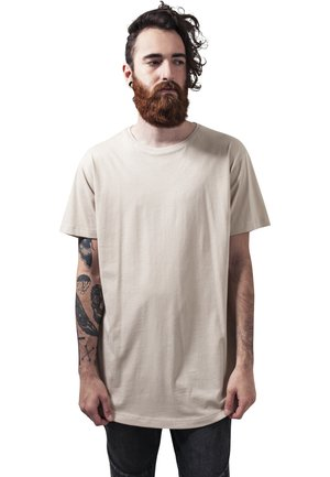 SHAPED LONG TEE DO NOT USE - T-shirt basic - toffee