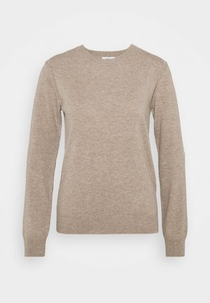 WOMEN´S - Strikpullover /Striktrøjer - honey