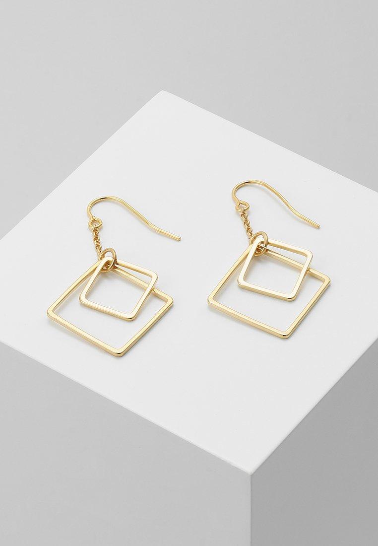 TomShot - ETERNITY - Earrings - gold-coloured