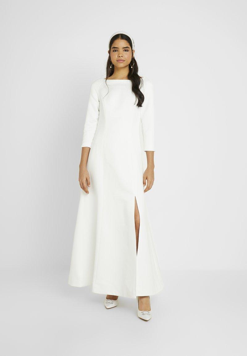 YAS - YASDORIA MAXI DRESS - Iltapuku - star white