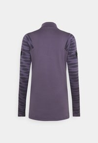 Nike Performance - DRY STRIK - Sportshirt - dark raisin/black/siren red - 5