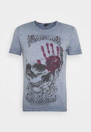 Camiseta estampada - steel blue