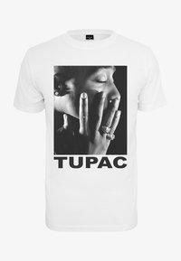 Mister Tee - TUPAC PROFILE - Print T-shirt - white - 5