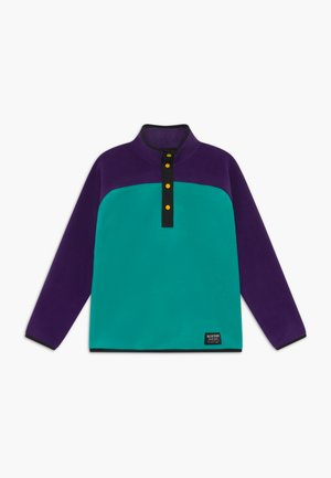 SPARK  - Fleece jumper - purple/turquoise