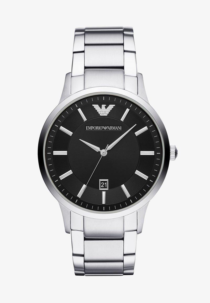 Emporio Armani - RENATO - Watch - silver