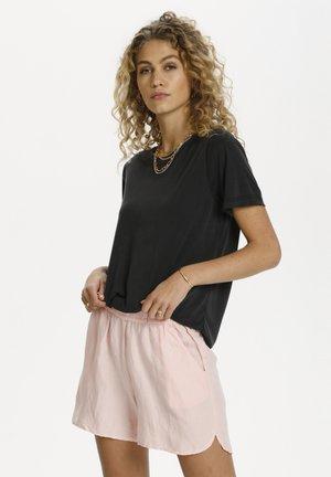 SAGA - Basic T-shirt - black wash
