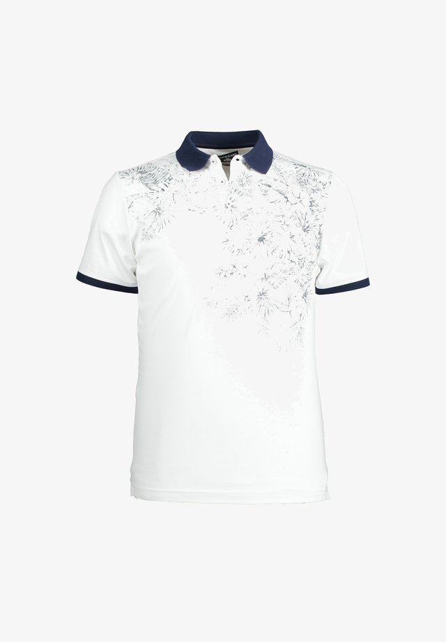 Poloshirt - white/navy