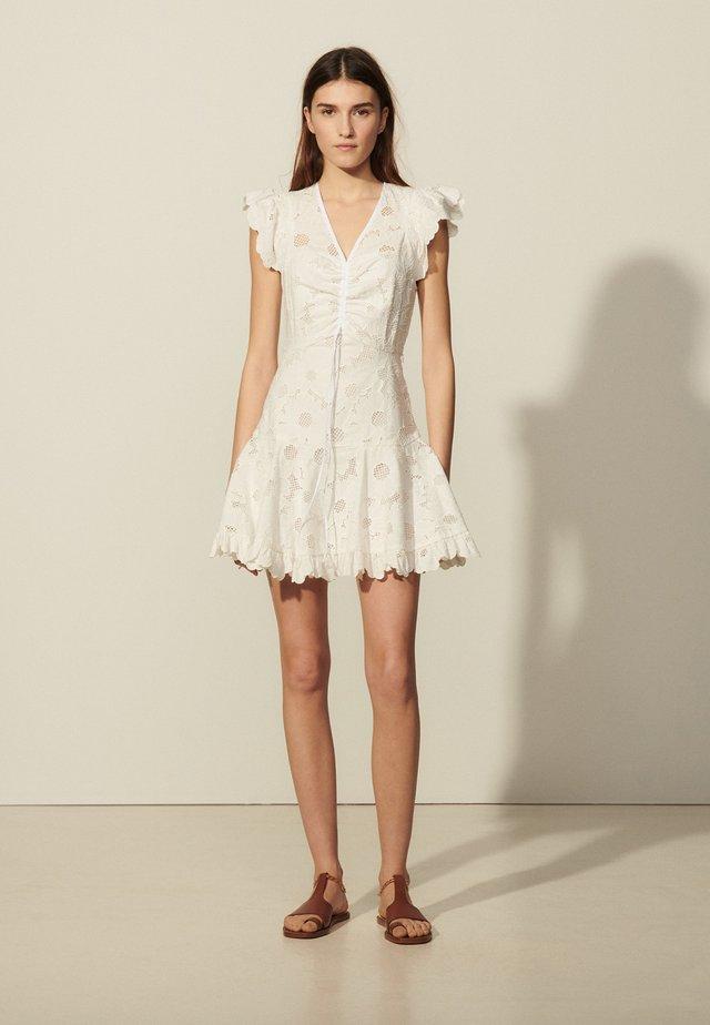 Vapaa-ajan mekko - blanc