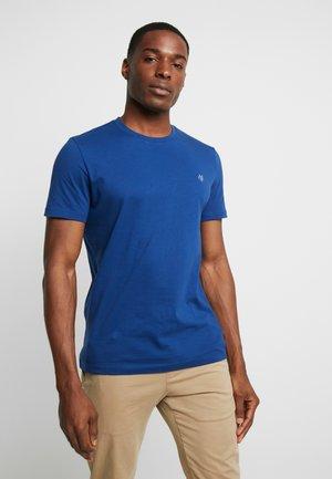 Basic T-shirt - navy peony