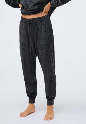 DARK STAR  - Pyjama bottoms - black
