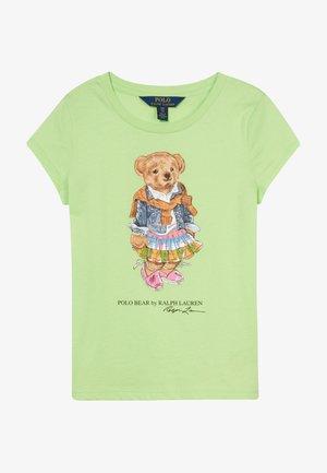 BEAR TEE - T-shirt imprimé - key lime