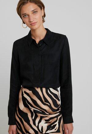 SLFRIA ODETTE - Button-down blouse - black