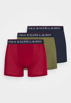 CLASSIC TRUNK 3 PACK - Shorty - navy/red/olive