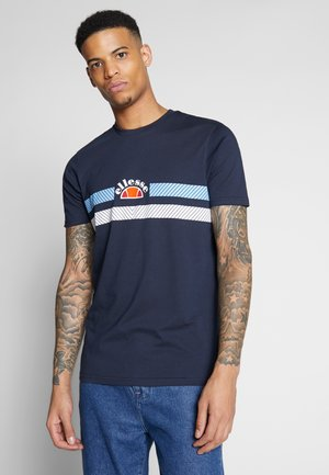 LORI - Print T-shirt - navy