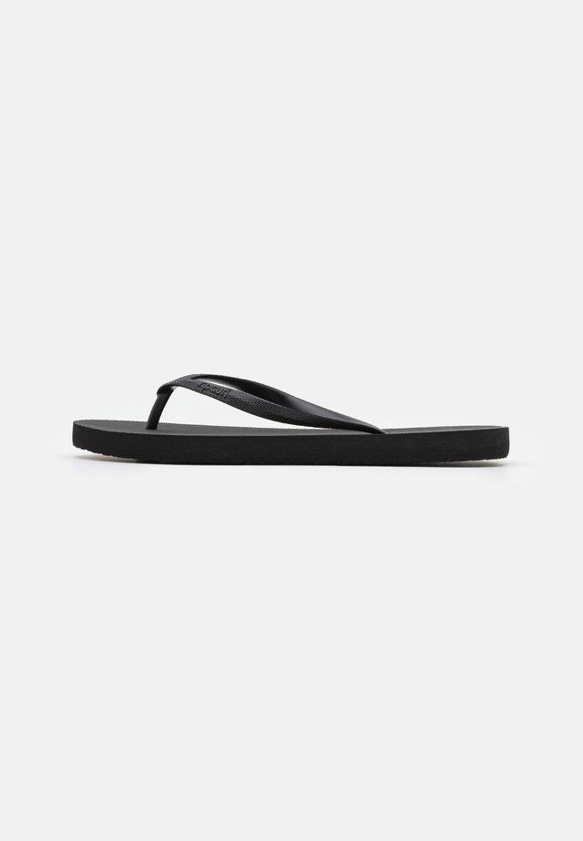 BONDI - T-bar sandals - black