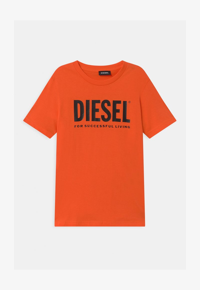 Diesel - JUSTLOGO MAGLIETTA - Triko spotiskem - flame orange