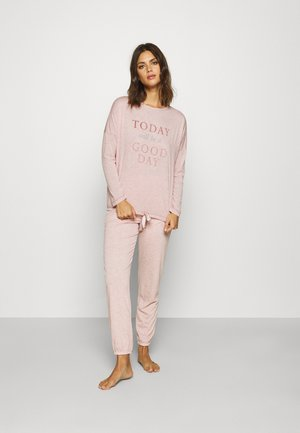 HOME LONG TODAY - Pyjama - pink melange