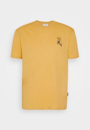 UNISEX - T-shirt med print - taupe
