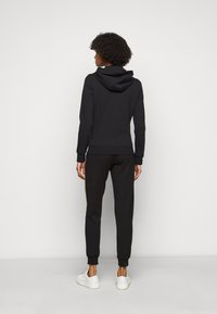 EA7 Emporio Armani - Zip-up hoodie - black - 2