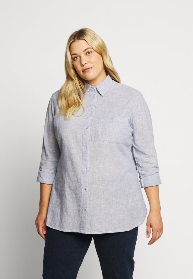 CURVE CHAMBRAY SHIRT - Blouse - blue