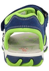 Superfit - Walking sandals - blue/green - 3