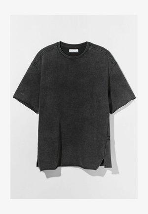 SHORT SLEEVE SWEAT - T-Shirt basic - grey