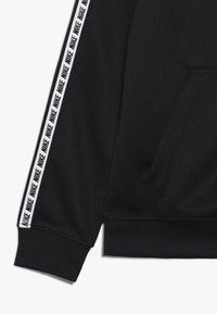 Nike Sportswear - HOODIE TAPED - Trainingsvest - black/white - 2