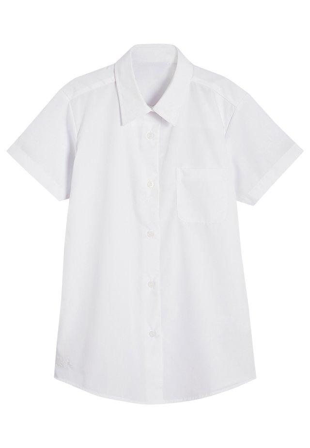 5 PACK SHORT SLEEVE FORMAL SHIRT - Chemisier - white