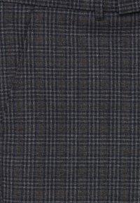 Casual Friday - PATRIK SMALL CHECKED PANTS - Trousers - navy blazer - 7
