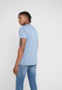 PS Paul Smith - ZEBRA  - Basic T-shirt - blue - 2