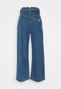Noa Noa - MIDWEIGHT - Široké džíny - denim blue - 1