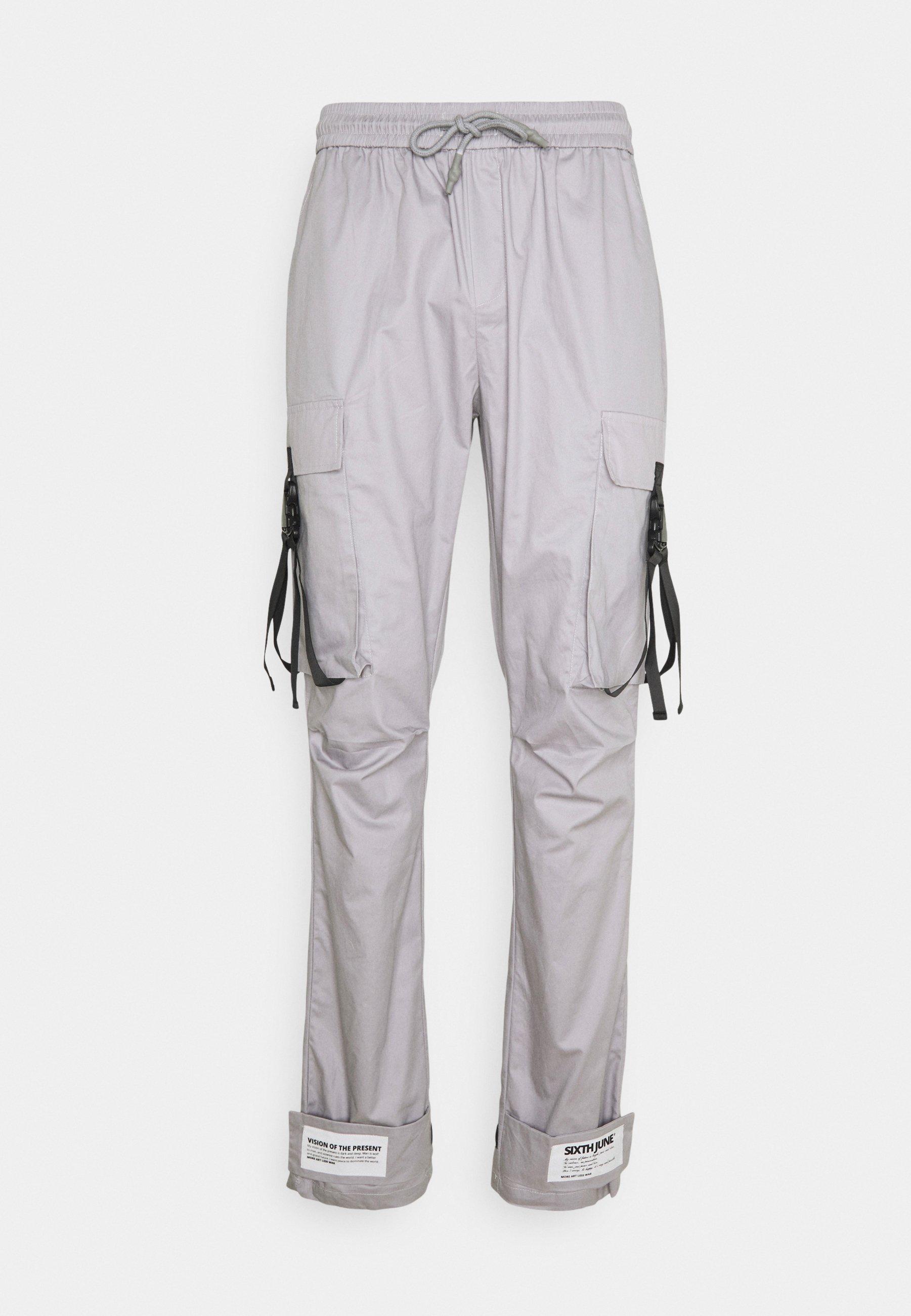 Men STRAP PANTS - Cargo trousers