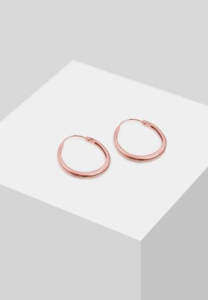 OHRRINGE CREOLEN  - Earrings - rose gold-coloured