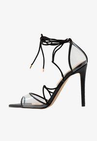 AMENABAR - High heeled sandals - black