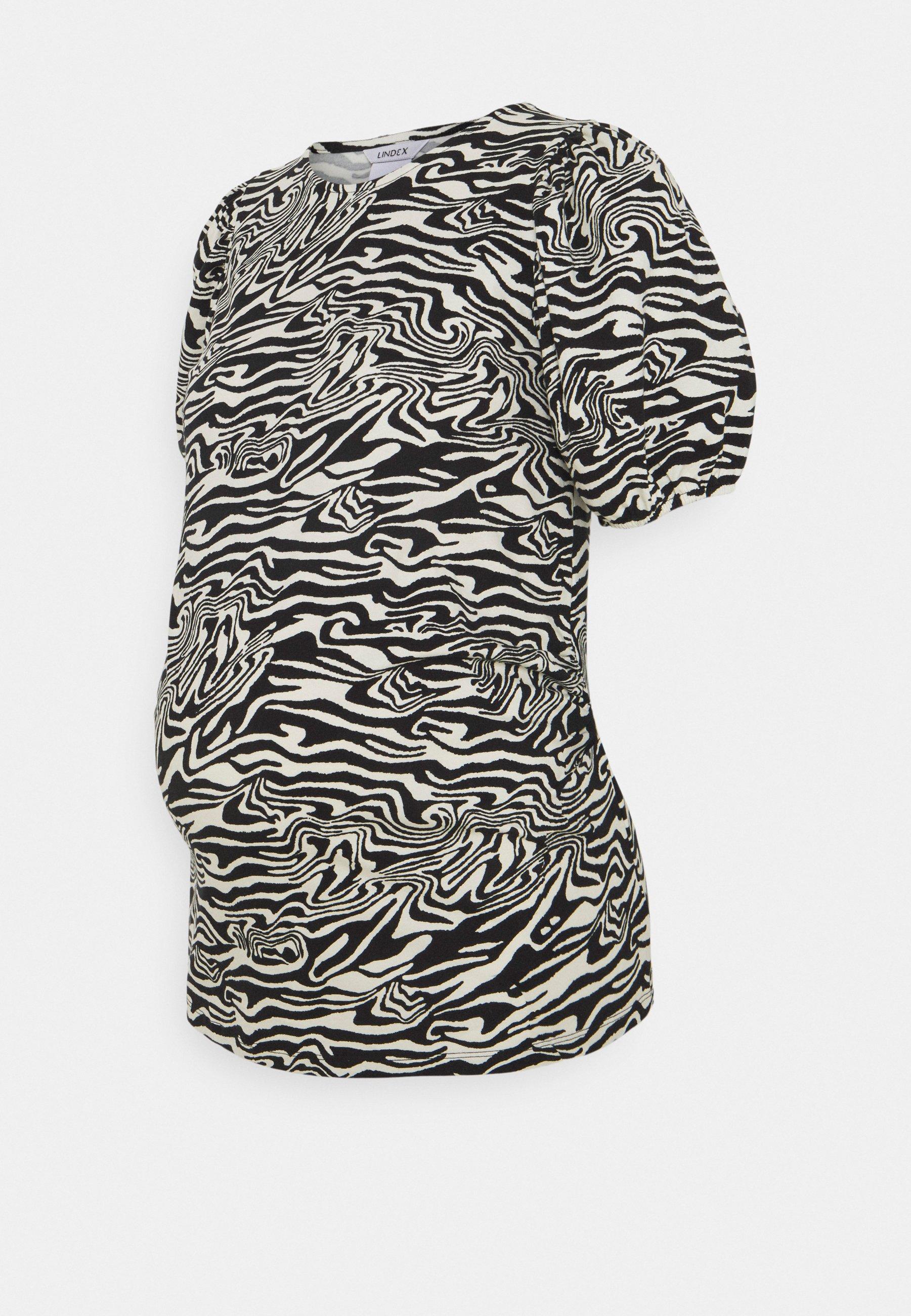 Women MOM PUFF SLEEVES - Print T-shirt