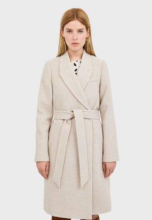 LODENMANTEL MIT GÜRTEL 05879842 - Classic coat - beige