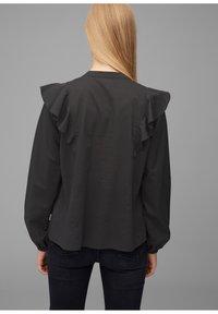 Marc O'Polo DENIM - Button-down blouse - black - 2