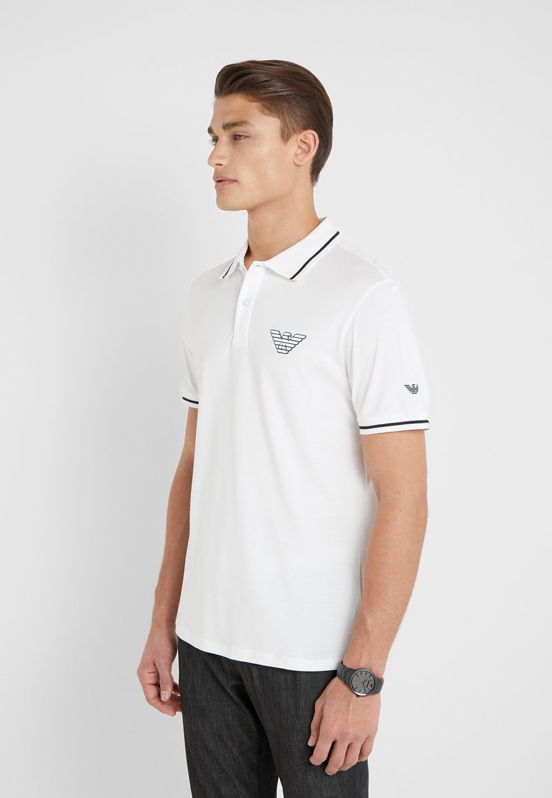 Emporio Armani - Koszulka polo - white