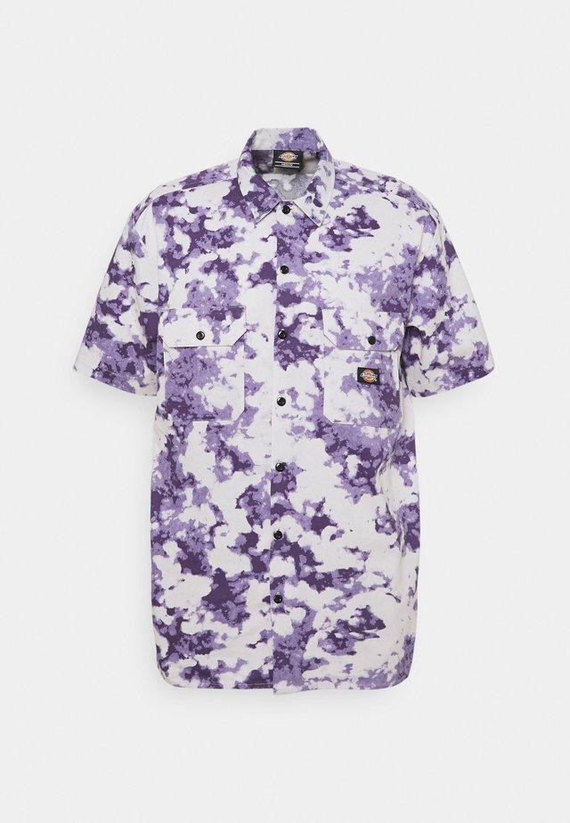 SUNBURG - Camicia - purple gumdrop