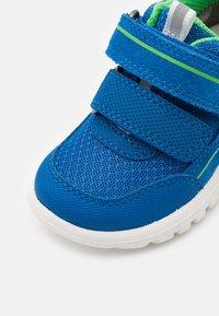 Superfit - SPORT MINI - Boty se suchým zipem - blau/grün - 5