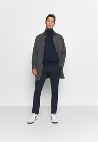 Selected Homme - SLHFELIX COAT - Manteau court - dark shadow - 1